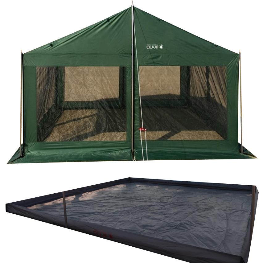 오빌 라운지 스크린 텐트 + 그라운드시트