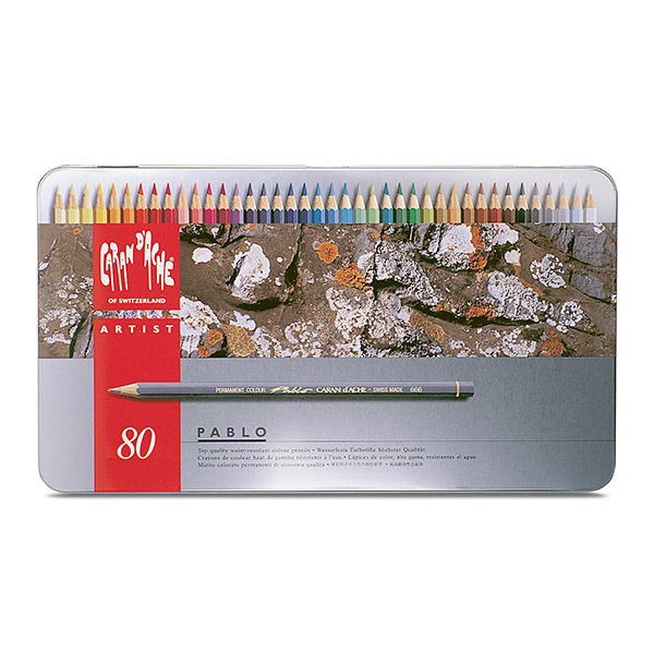 까렌다쉬유성색연필세트666