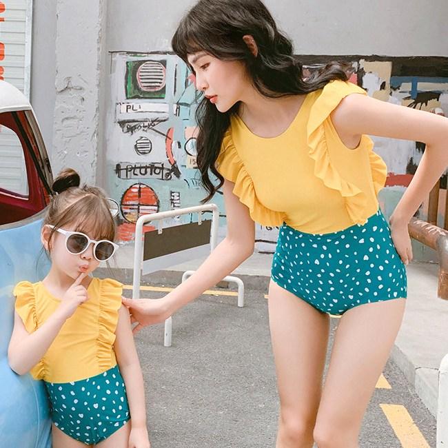 룰루네집여아원피스수영복엄마랑딸이랑