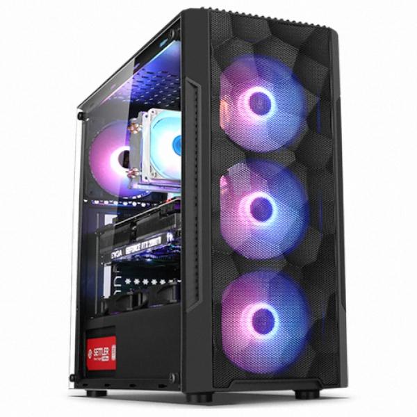 컴맹닷컴 게이밍 마스터 PC CM97KFC-278H(인텔 i7-9700KF RTX2070 SUPER 8GB RAM 16GB SSD 500GB WIN10), CM97KFC-278H, 기본형