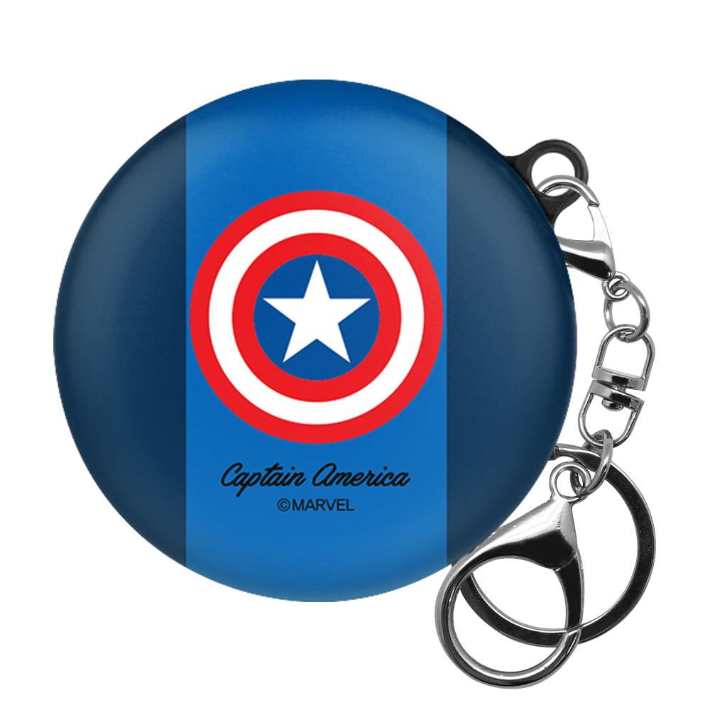 마블 LG톤 플러스 프리 케이스 + 고리, 단일상품, 캡틴아메리카