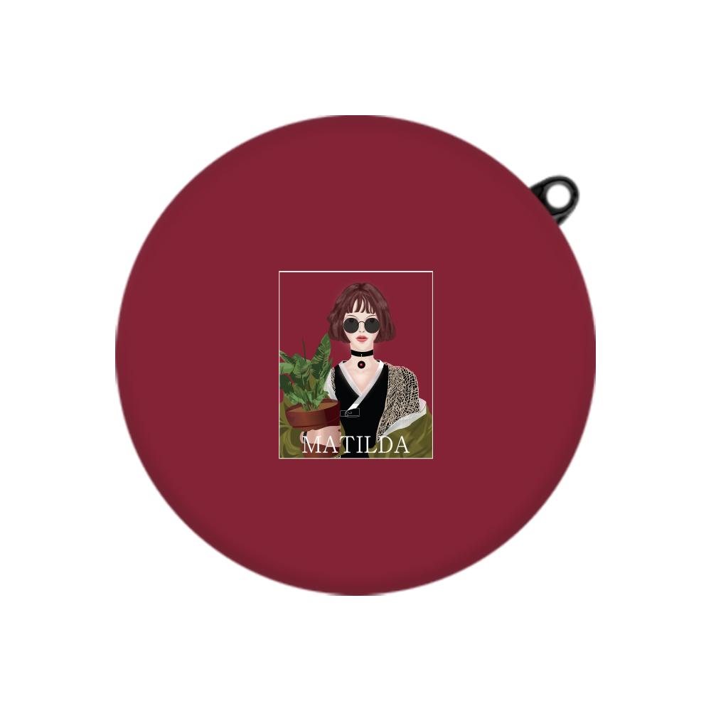 구스페리 레옹 일러스트 디자인 LG 톤 플러스 프리 케이스, 단일상품, 와인마틸다