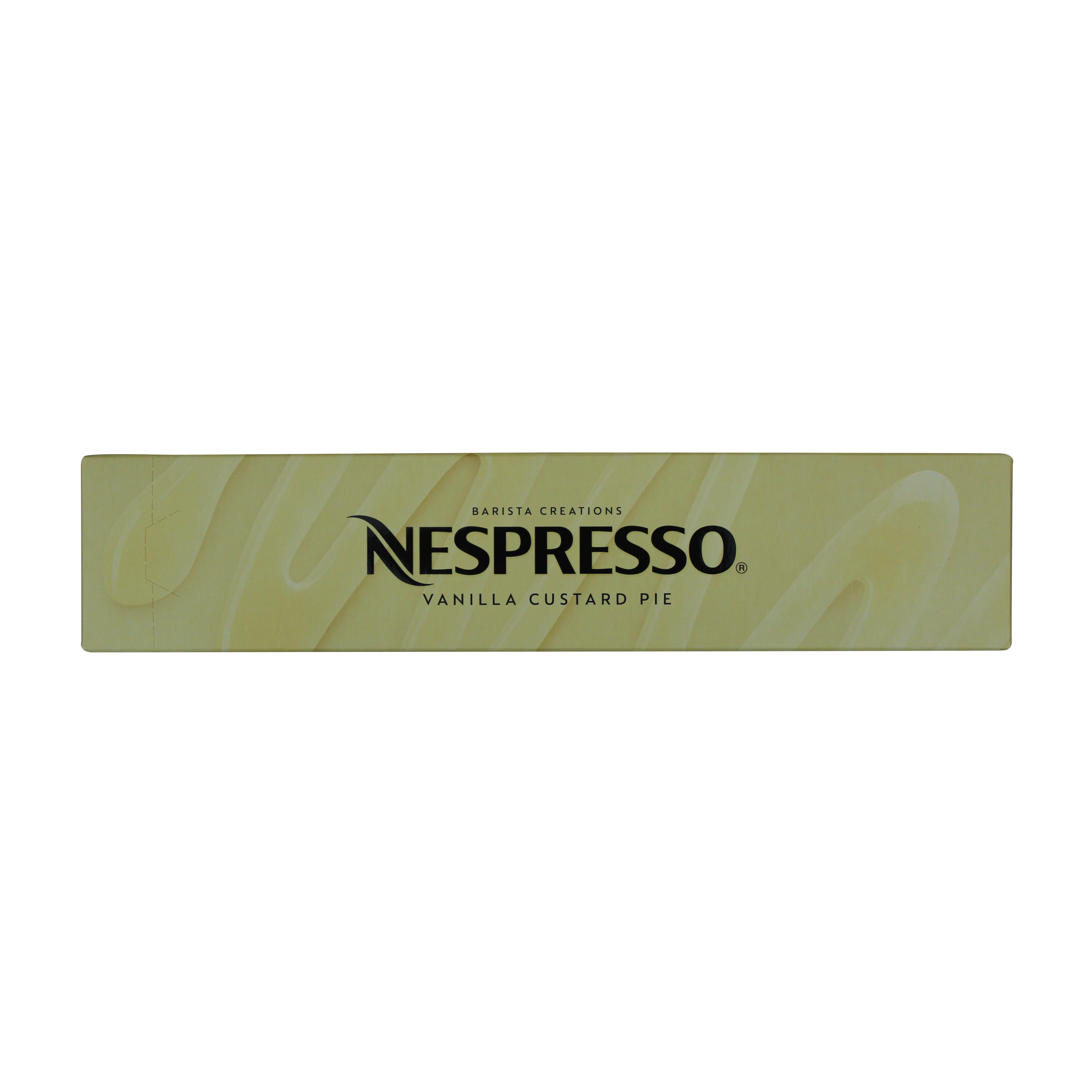 네스프레소 버츄오 바리스타 크리에이션 바닐라향 커스터드 파이 캡슐커피, 12.5g, 10개