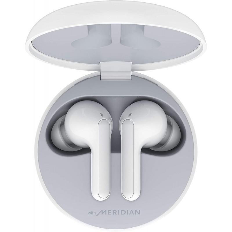 LG TONE Free HBS-FN4 - Meridian Audio의 Hi-Fi 사운드 솔루션이 적용된 진정한 무선 블루투스 이어버드 각 이어버드의 듀얼, 단일옵션, 단일옵션