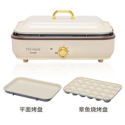 일본 IRIS 가정용 다기능 연기가 안나는 바베큐 전기그릴, 단품