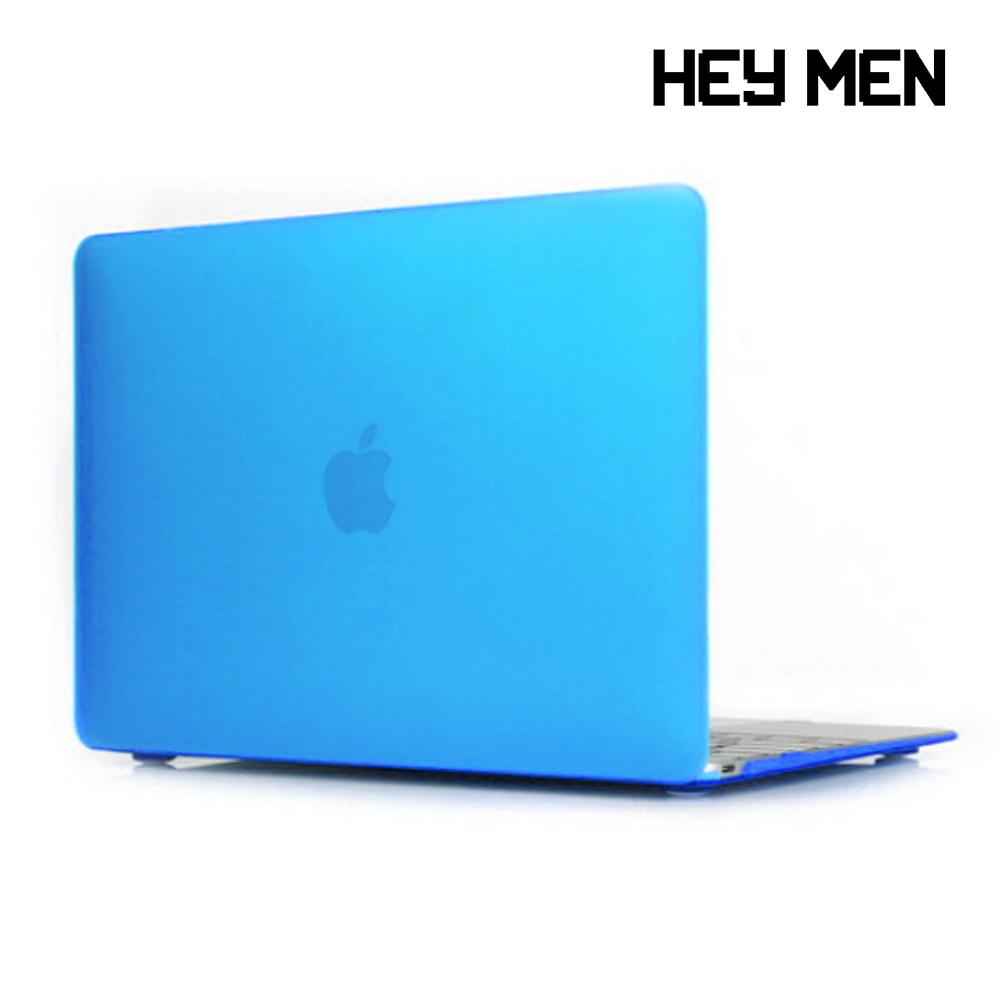 헤이맨 맥북프로 2020 13인치 투명 하드 케이스 A2251 A2289, 블루
