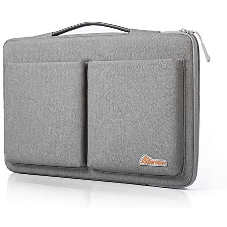 맥북 프로 13인치 2020 파우치 가방 S04 SIMTOP 360° Protective Laptop Sleeve Case Bag with Handle Com, One Color_13-13.3 inch for Ne, One Color