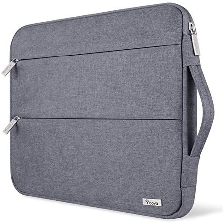 맥북 프로 13인치 2020 파우치 가방 S19 Voova 13 13.3 Inch Laptop Sleeve Case Compatible with MacBook, One Color_13 - 13.5 In, One Color