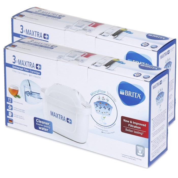 브리타 막스트라 플러스 정수기 필터, 단일 상품, 6개